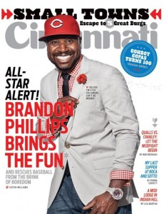 Cincinnati Magazine August Cover