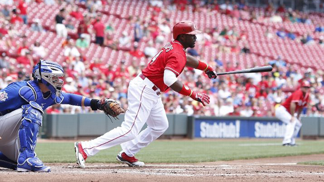 Reds Rally To Sweep Double Header