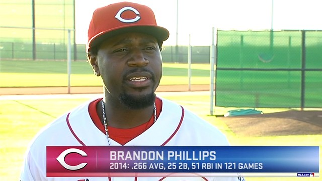 Brandon Phillips and the Reds Look To Bounce Back