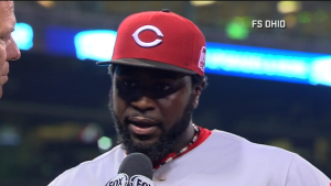 Brandon Phillips talks about his late-night home run in the 13th inning to top the Pirates as the Reds gets the series victory.