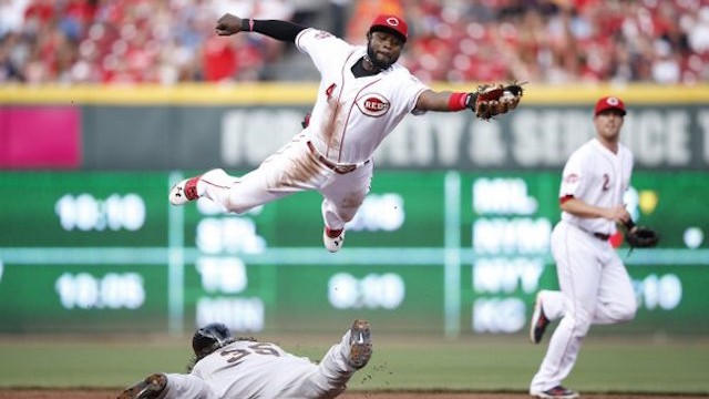 Phillips named one of top Reds photo of 2015